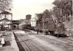 Tondela oude spoorlijn